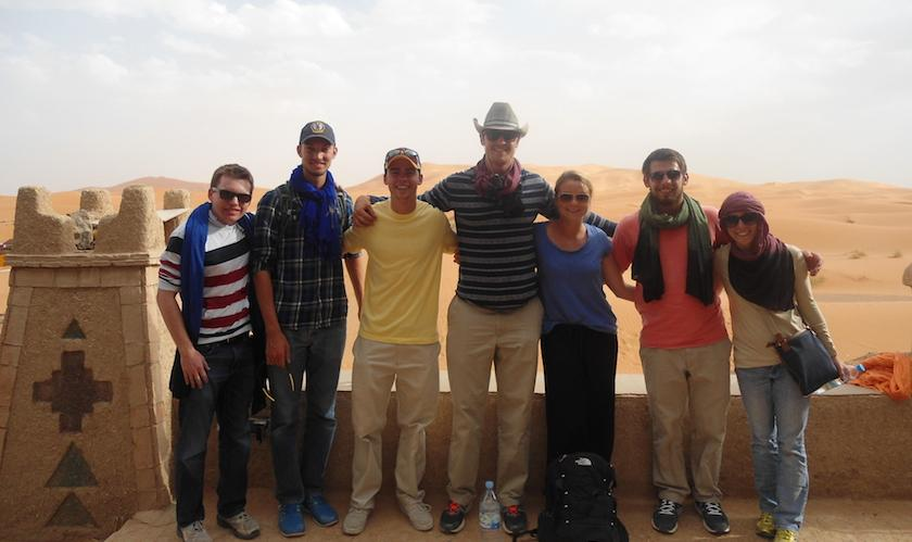 Project GO students in Morocco